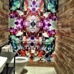 Bathroom design at Circa39 hotel Miami Beach