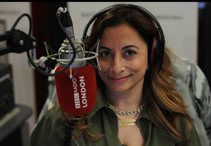 Jasmine Dotiwala is a broadcaster for the BBC, Channel 4 News, Sky News, and works with the Media Trust to bring more diversity into the media.
