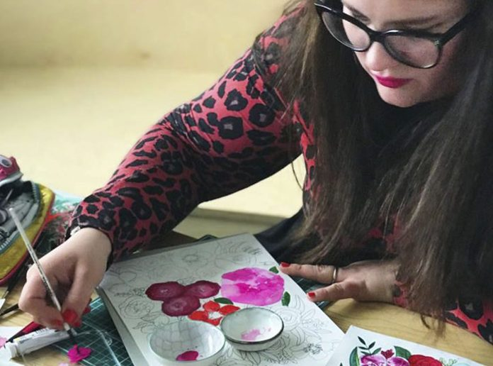 From working in fashion to Miss Bespoke Papercuts