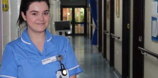 Melissa Jefferies, 25, is nurse at St Catherine's Hospice