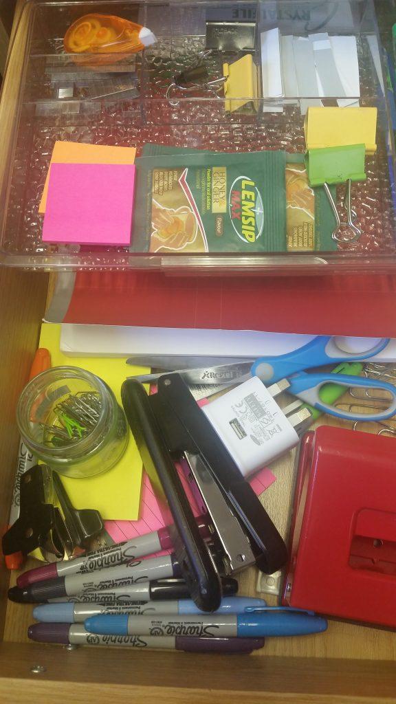 Stationery drawer