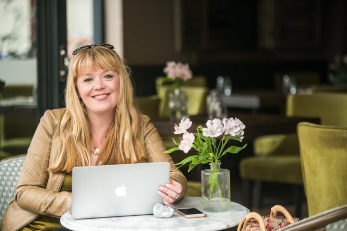 Lulu Minns quit her criminal law career to become a business coach for women