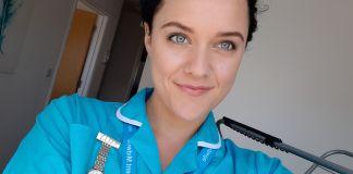 Midwife Sally Bastable