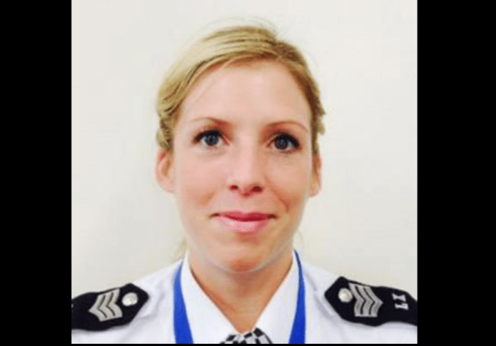 Catherine Hay, police officer