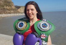 Kickboxing champion Jessica Fleischer