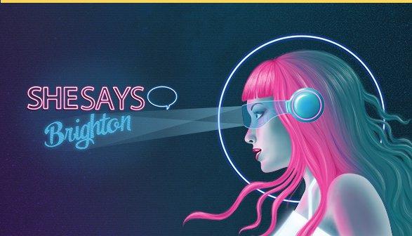 SheSays Brighton event for women in digital
