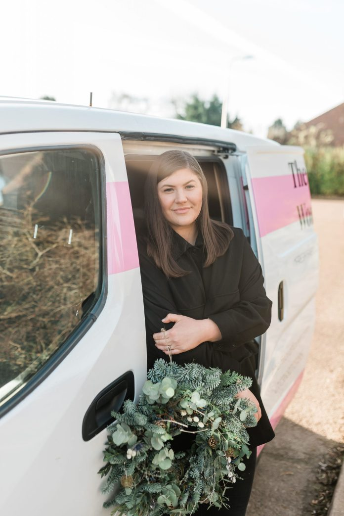 Hannah started her own floristry business