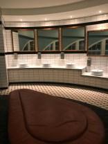 Cool looking bathroom
