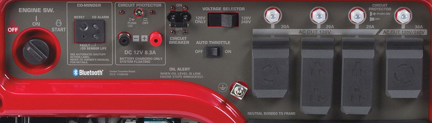 Honda EM5000S 4500/5000W Portable Generator: Spec Review