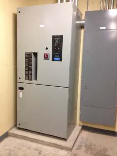 Bypass Isolation switch transfer switch