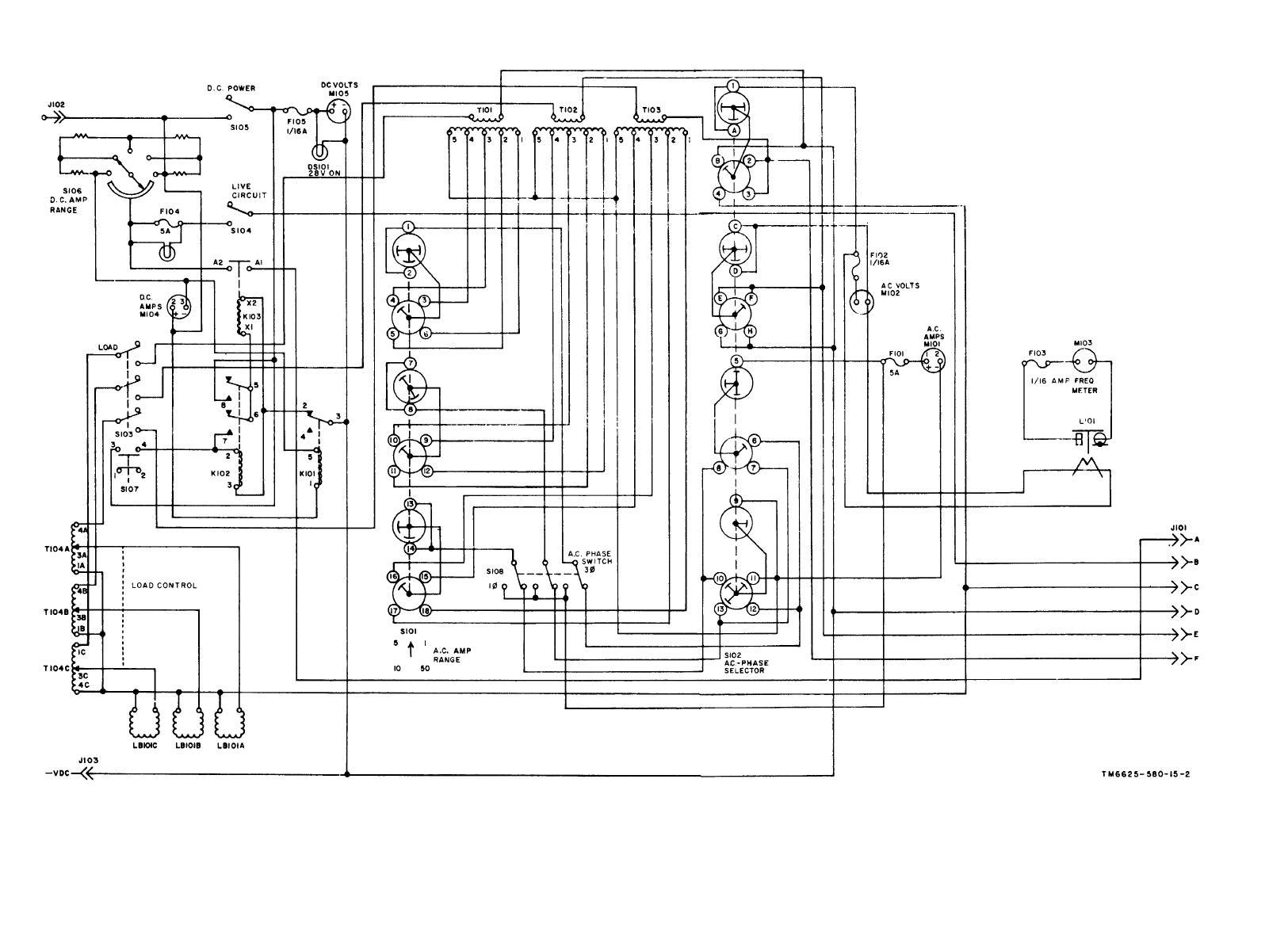 generator wiring schematic