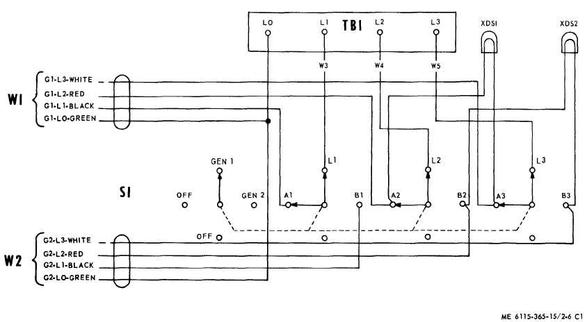 Figure 3 6 Transfer Switch Wiring Diagram