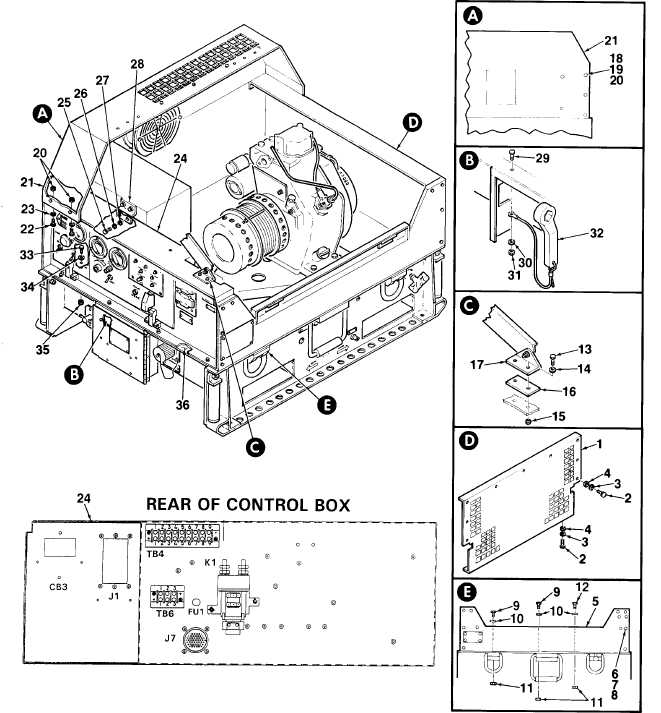 Figure 4-3. Control Box Assembly (Sheet 2 of 2)