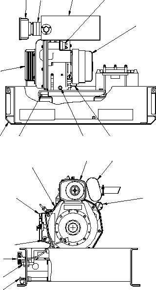 Figure 1-3. Engine / Generator Assembly.