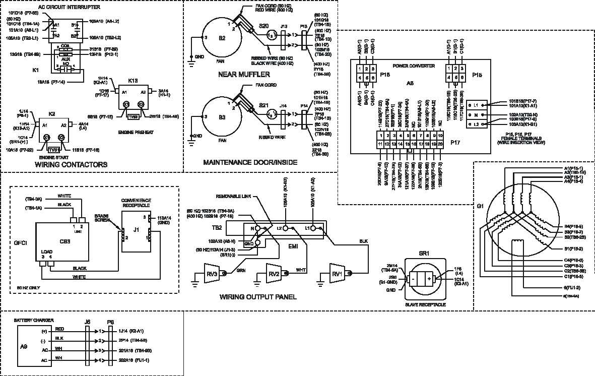 Figure FO-2. Generator Set Wiring Diagram (Sheet 3 of 4)