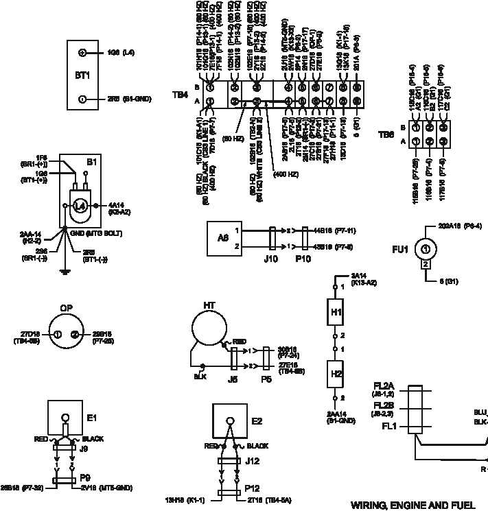 Figure FO-2. Generator Set Wiring Diagram (Sheet 4 of 4)