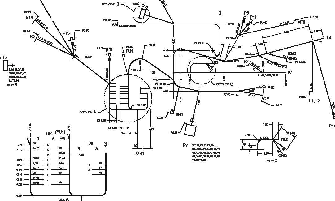 Figure FO-3. Engine Wiring Harness Diagram, 60 Hz (Sheet 1