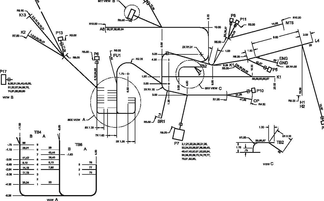 Figure FO-4. Engine Wiring Harness Diagram, 400 Hz (Sheet