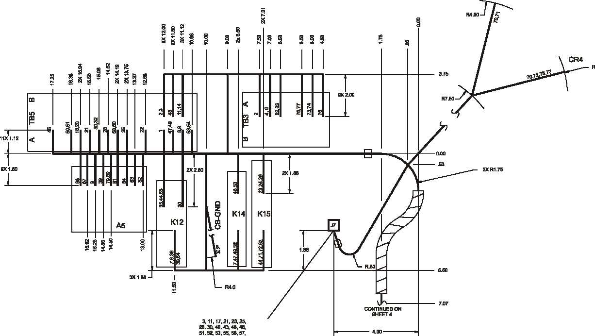 Figure FO-6. Control Box Wiring Harness Diagram, 400 Hz