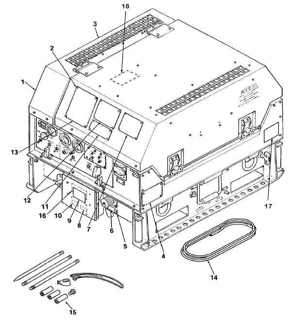Figure 1. Generator Set, 3KW
