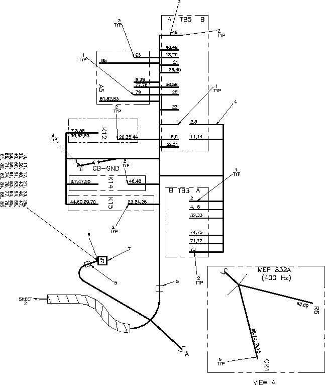 Figure 6. Wiring Harness, Control Box (Sheet 1 of 2)
