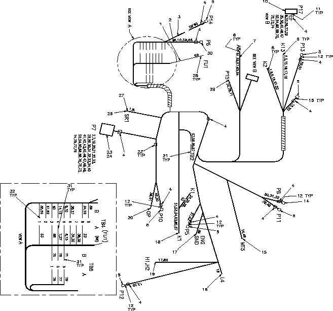 Figure 13. Wiring Harness, Generator Set