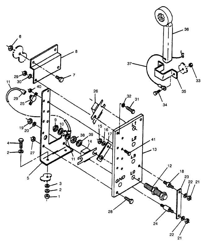 Figure 2-26. Load Output Terminal Board Assembly