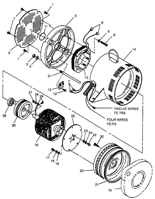 Figure 4-24. Generator Assembly (MEP-802A)