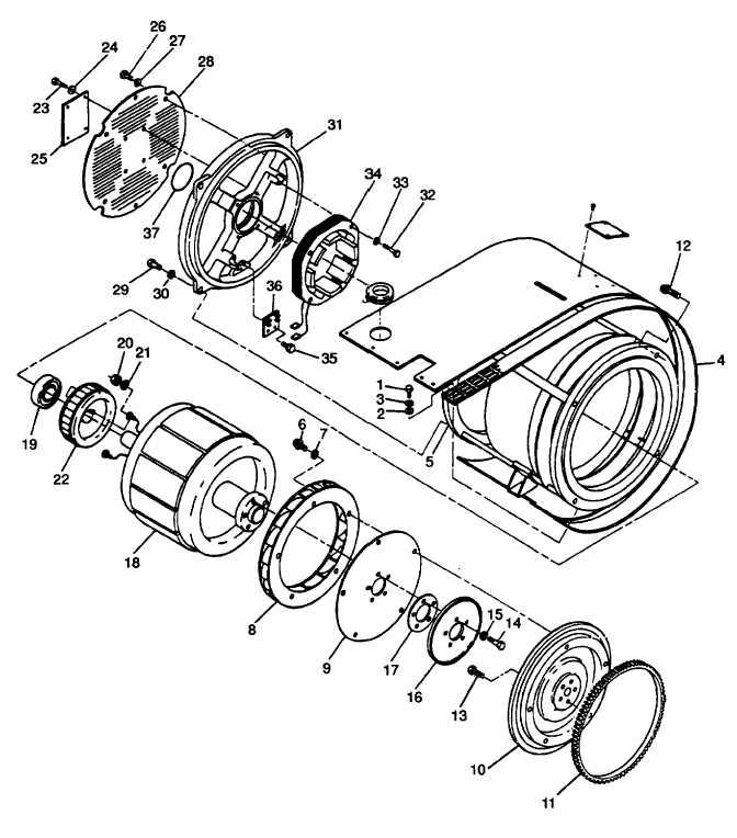 Figure 4-25. Generator Assembly (MEP-812A)