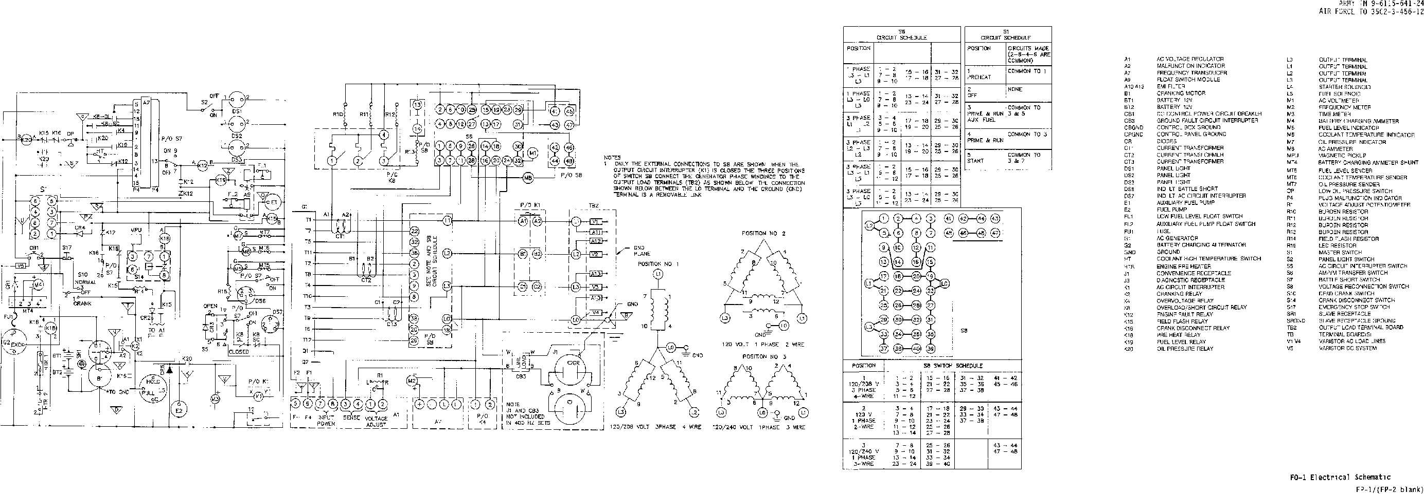 fo-1. electrical schematic