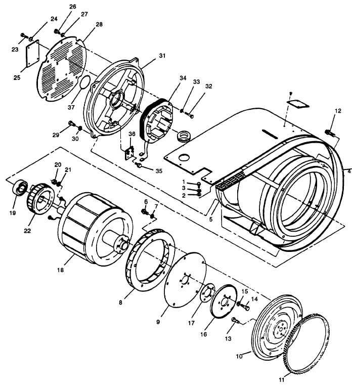 FIGURE 4-25. Generator Assembly (MEP-813A)
