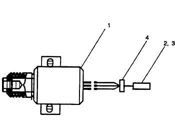 FIGURE D-14. Solenoid Assembly, Fuel (P/N: 88-20482)