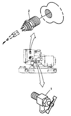 FIGURE 2-32. Engine Switches and Senders, Left Side