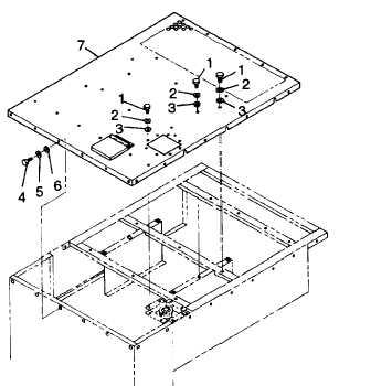 FIGURE 3-2. Generator Set Top Housing Panel