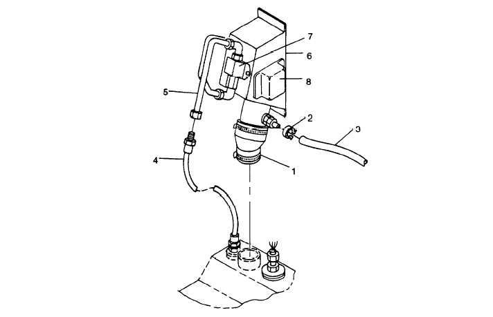 FIGURE 3-8. Fuel Filler Panel Assembly