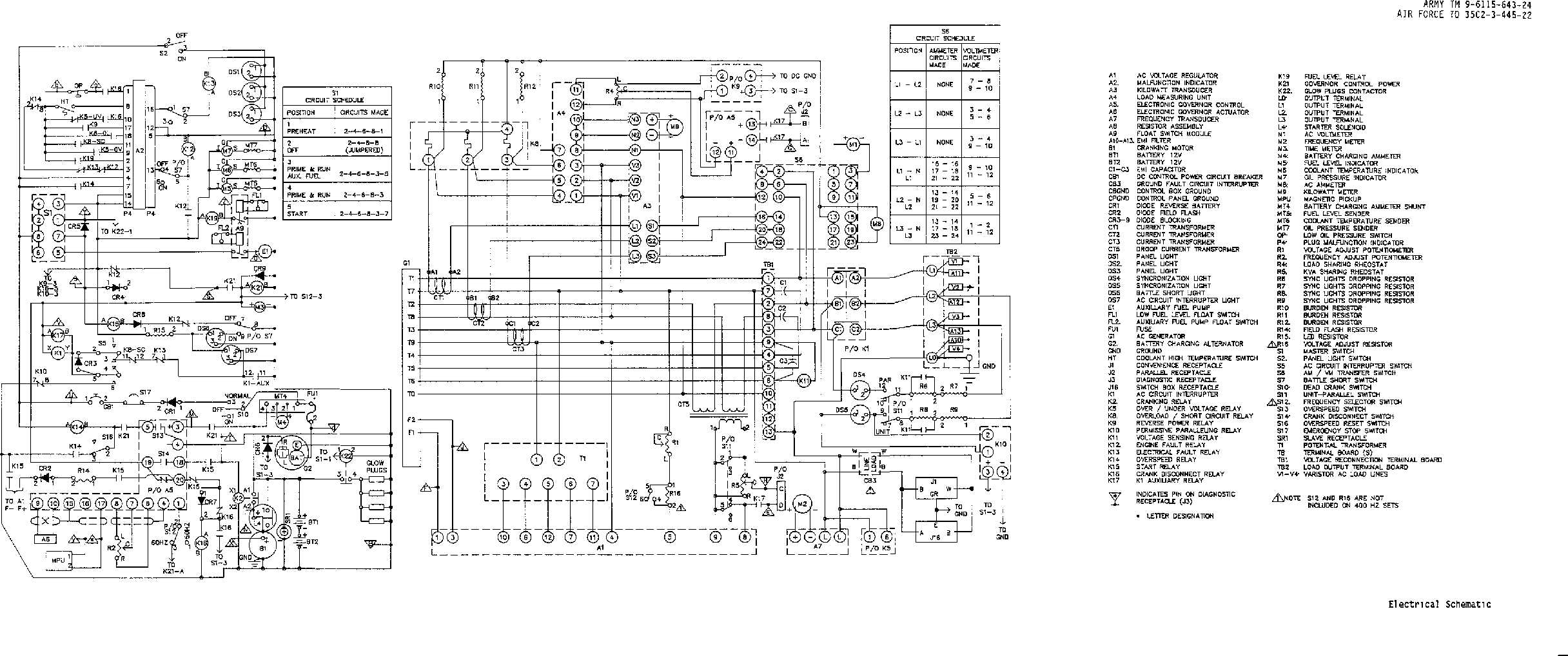 Fo 1 Electrical Schematic
