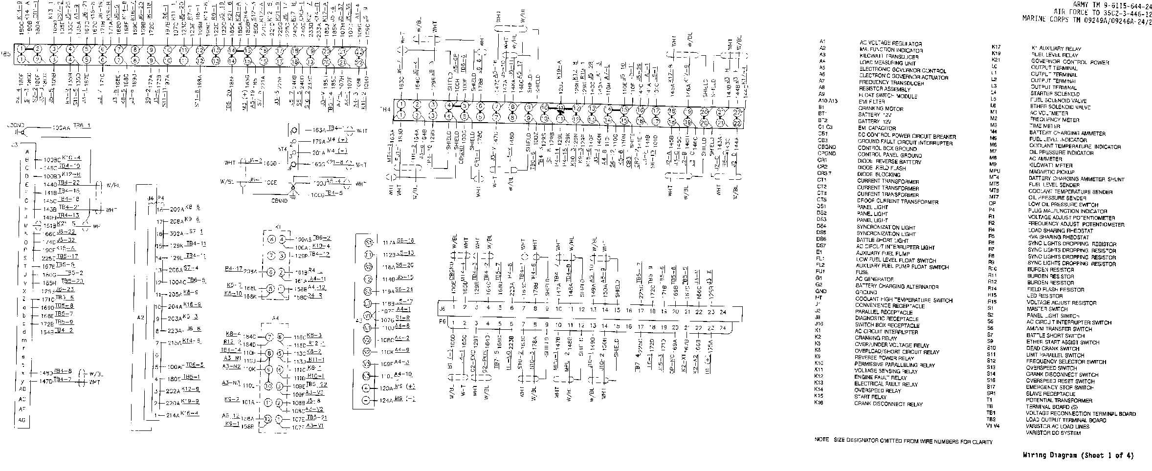 Fo 2 Wiring Diagram Sheet 1 Of 4