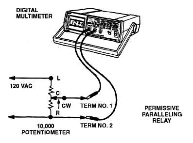 PERMISSIVE PARALLELING RELAY