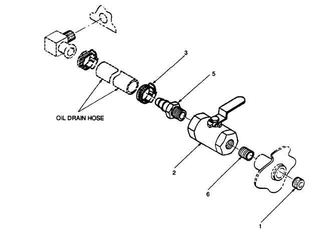 FIGURE 2-31. Oil Drain Valve