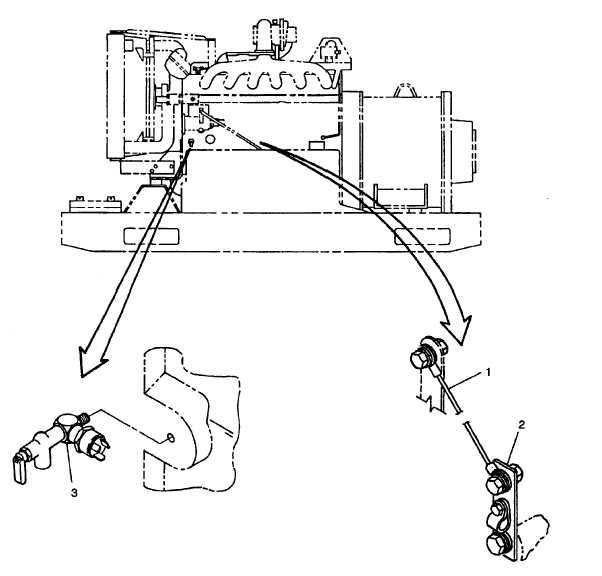 FIGURE 3-17. Engine Components (Left Side)