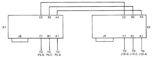 Figure 5-7. PDU Contactor Wiring Diagram