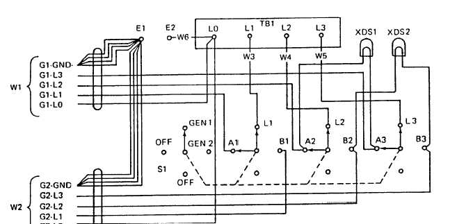 Figure 4-7. Switch Box Schematic Diagram