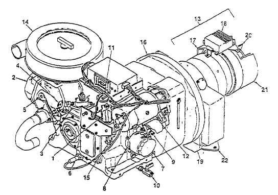 1-1-4. ENGINE AND ALTERNATOR