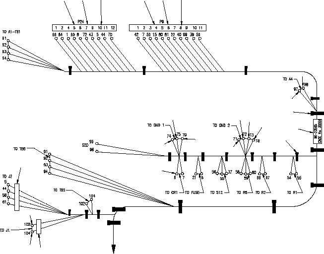 Figure 6. Control Box Wiring Harness (Sheet 1 of 3)