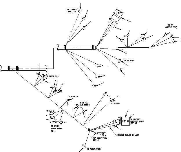 Figure 15. Output Box Wiring Harness (Sheet 3 of 3)