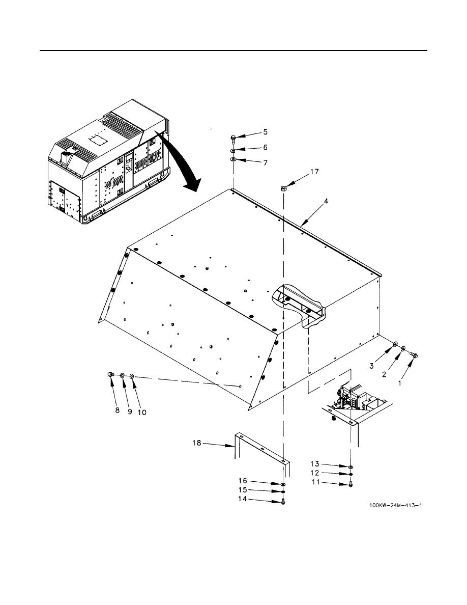 Figure 1. Rear Roof Section Housing Assembly (Sheet 1 of 2).