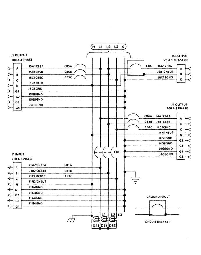 FIGURE 4-1. M200 Feeder Center Wiring Diagram. (Sheet 2 of 2)