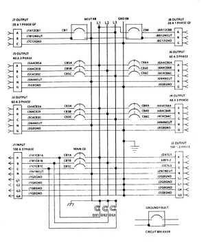FIGURE 42 M100 Feeder Center Wiring Diagram