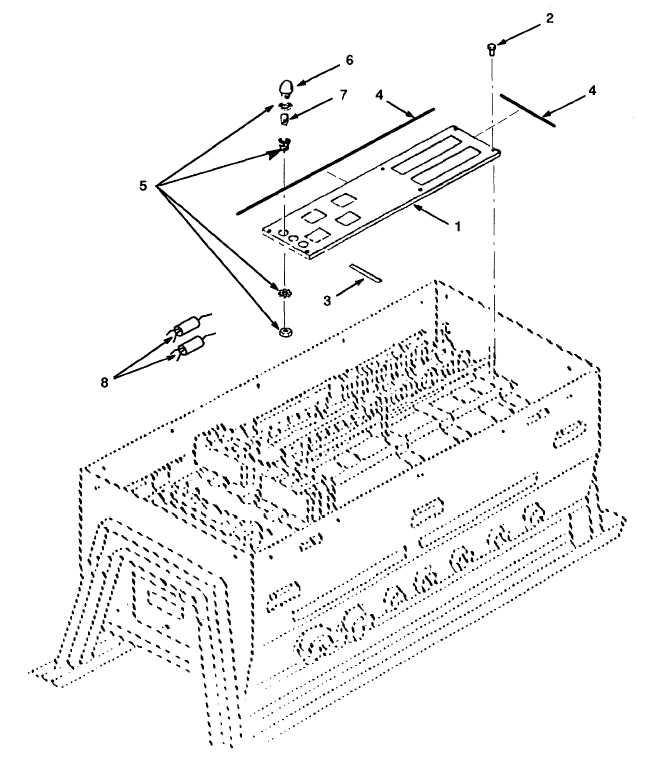 Figure F-4. Subpanel, Indicator Light Assy, Indicator Bulb