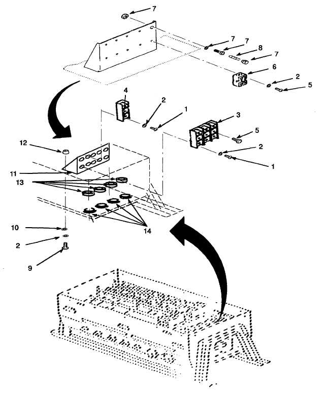 Figure F-6. Terminal Blocks, Fuse Holder, and Fuse.